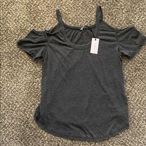 Z Supply cold shoulder shirt